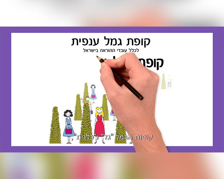 גמל גל-סרט תדמית הסברה שיווק מוצר
