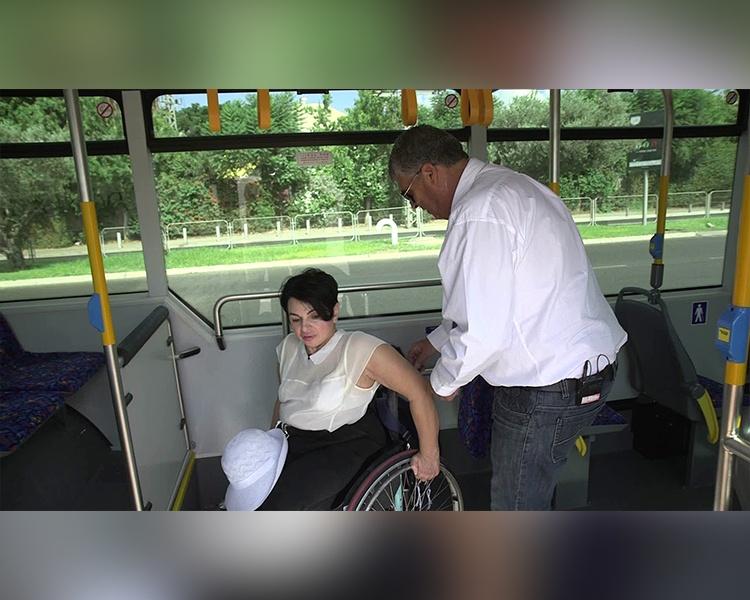 דן ועמותת נגישות ישראל – הדרכת נגישות בתחבורה הציבורית