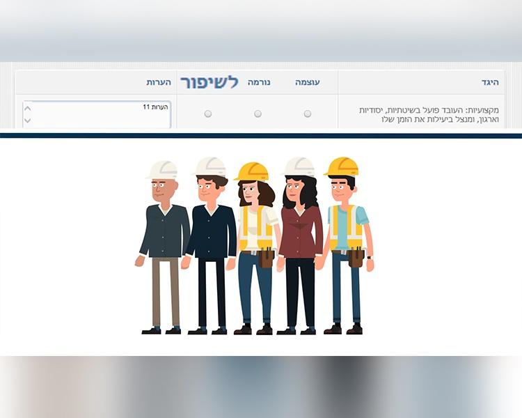 דניה סיבוס – סרט הסברה לסקר הערכת עובדים