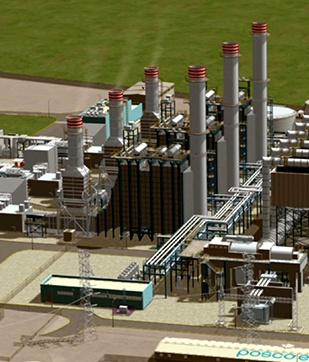 תחנת כוח PERU CALAPA – סרט תדמית, הסברת צורת עבודת התחנה