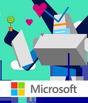 Microsoft – גדלים ומתפתחים ביחד