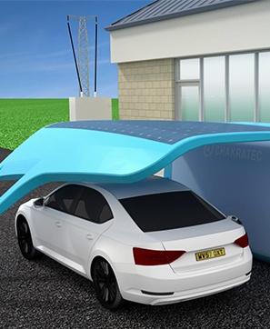 Chakratec -הטענת רכבים חשמליים במקומות שאין מספיק זרם חשמל