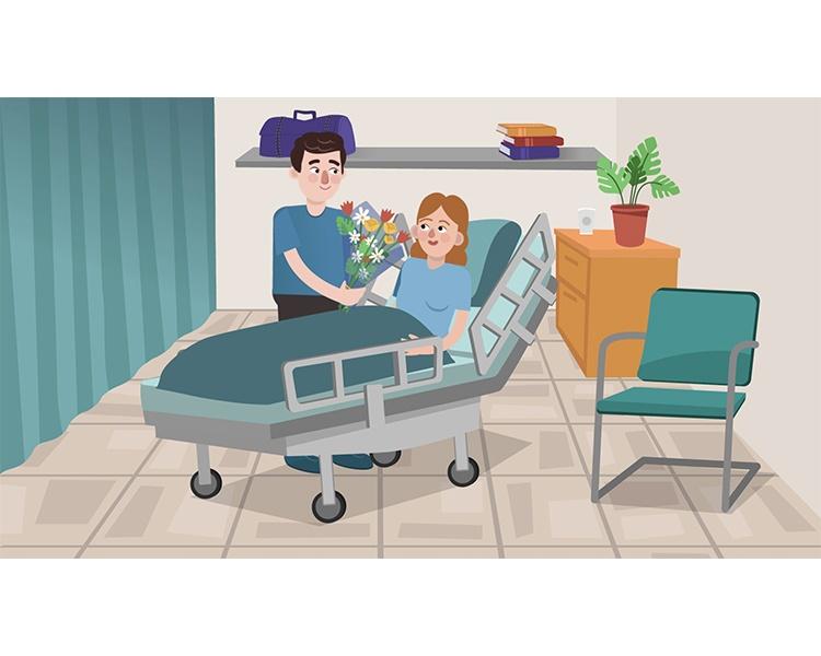 סרט הסברה לממתינים בחדרי ניתוח- בית החולים שיבא תל השומר