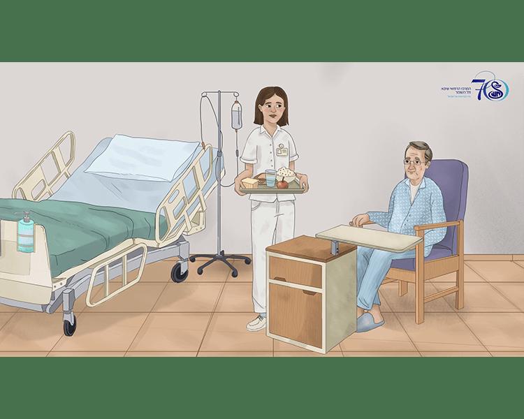 סרטון הדרכה לטיפול במטופל דימנטי סרט הדרכה שהפקנו בעבור שיבא תל השומר