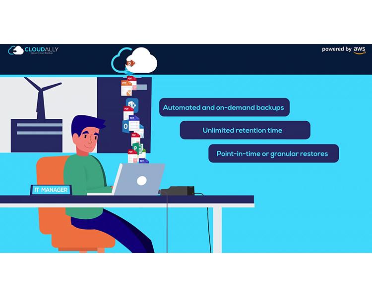 סרטון תדמית לסטארטאפ סרט מוצר גיבוי בענן CLOUDALLY