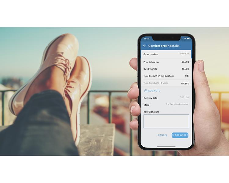"""""""Self Order"""" B2B סרט תדמית מוצר לאפליקציית"""