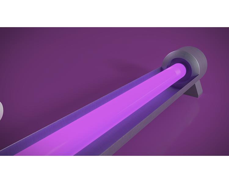 Ultra Violet covid 19 סרט תדמית למוצר להשמדת נגיף הקורונה ממשטחים
